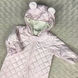 Uniqlo Baby Quilted Bunting Snowsuit Size 3-6 M